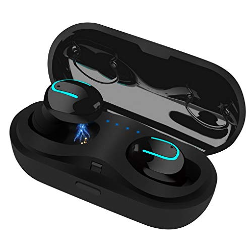 ACMEDE Wireless Earphones Bluetooth 5.0 in-Ear Earbuds with Charging Case Wireless Earbuds 3D Stereo Headphones Built-in Microphone for Sport, Running, Gym- Super Easy Pair