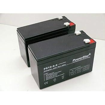 Amazon.com: 12 V 9 Ah Batería de repuesto marca para Razor ...