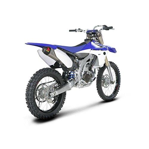 - Akrapovic 14-15 Honda CRF250R Evolution Standard Titanium Full System Exhaust with Spark Arrestor (Titanium)