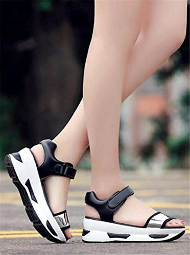 Canvas Walking Slip set Women's on adil Black2 Sneaker Toning Shoe aIwwqgfxA