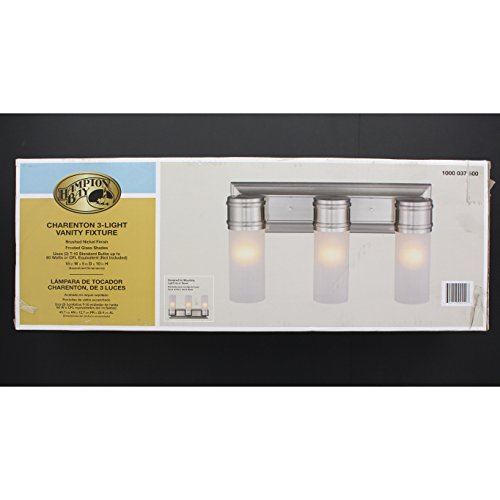 Hampton Bay Charenton 3-Light Vanity Fixture