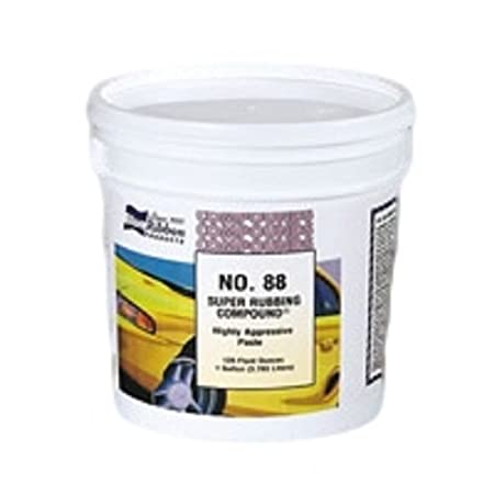 Blue Ribbon 88460#88 Extra Heavy Cut Super Rubbing Compound - 1 Gallon