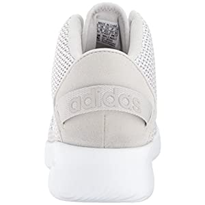 adidas Originals Men's CF Refresh Mid Basketball Shoe, Grey One/White/Grey Two, 11 Medium US
