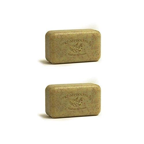 Honey Shea Butter Soap - Pre de Provence 150g Honey Almond Shea Butter Enriched Triple Milled Soap (Pack of 2)