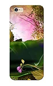 6d15c454894 Pirntalonzi Awesome Case Cover Compatible With Iphone 6 Plus - Butterflies On Fallen Leaves