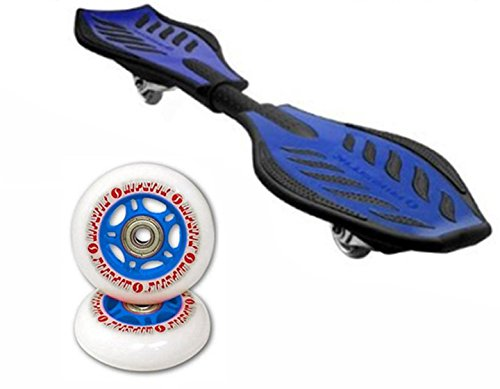 RipStik Caster Board Value Pack With Extra Wheels (Blue)