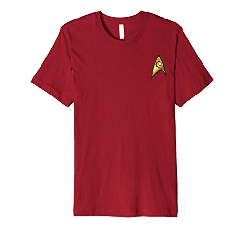 Star Trek Red Shirt Kids Costumes - Star Trek Original Series Engineering Badge