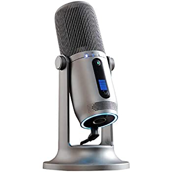 54f773bcfd9 TRITTON Halo Professional Condenser Microphone, Game Live Professional  Recording Microphone, with Desktop Stand for Gaming,YouTube Video,  Recording Podcast ...