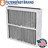 FiltersFast Compatible Replacement for Trane Perfect Fit BAYFTFR21M 21' x 27' x 5' (Actual Size: 20 9/16 X 26 3/16 X 4 15/16) 2-Pack