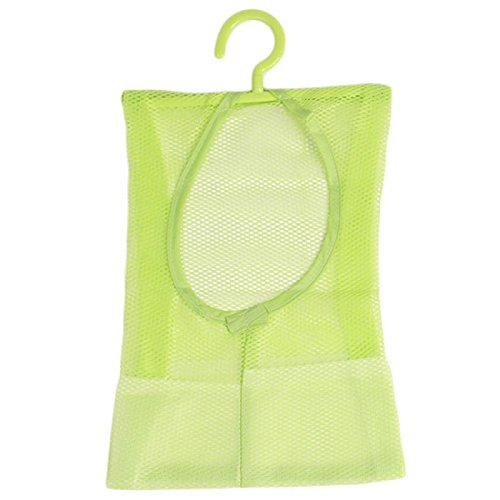 Clothes Pin Storage Bag Mesh Net Laundry Clothespin Holder Hook Towel Net