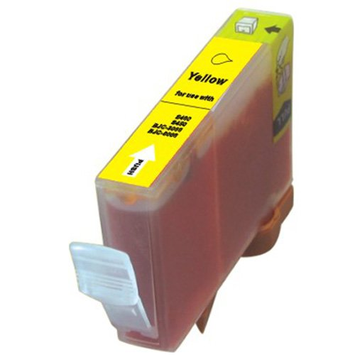 4-Pack YELLOW Compatible Ink w/ Chip for Canon CLI-226 Compatible with: Pixma ip4820, iP4920, iX6520, MG5120, MG5220 Wireless, MG5320, MG6120 Wireless, MG6220, MG8120 Wireless, MG8220, MX882 Wireless