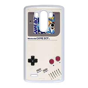 LG G3 White phone case Game boy Pikachu Best Xmas Gift for Boy QWS4420602