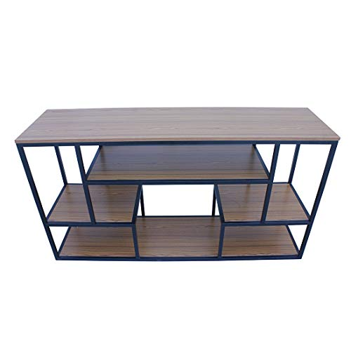 Woodencasa Open Book Shelf for Home and Office   Engeeniring Wood   Book Storage     Natural Brown