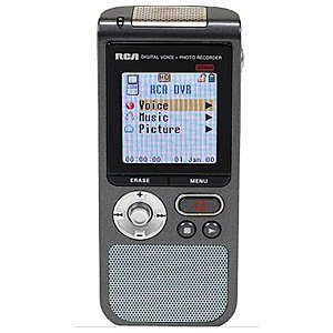 RCA RP5055A DigitalVoice Recorder with Camera by RCA