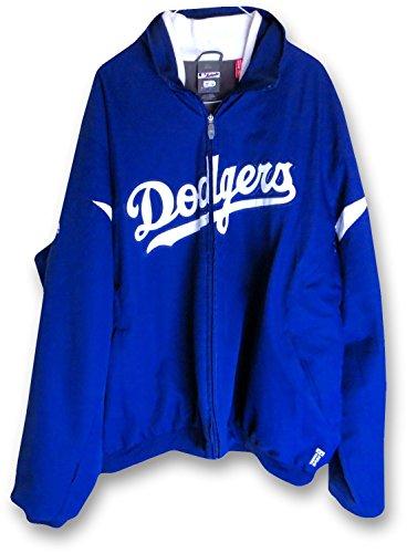(Scott Van Slyke 2013 Team Issue Los Angeles Dodgers On Field Jacket MLB EK645359)