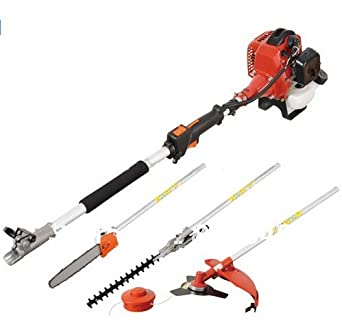 Petrol Garden MULTI TOOL 5 in 1 Grass /& Hedge Trimmer Strimmer Pole saw
