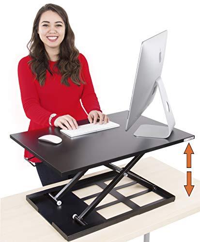 Stand Steady Standing Desk X-Elite Standing Desk | X-Elite Pro Version, Instantly Convert Any Desk...