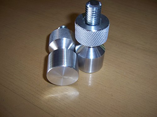 Two Hole Pins. Small. 1/2'' by 1-1/8'' Aluminum. by Jerry Gray (Image #1)