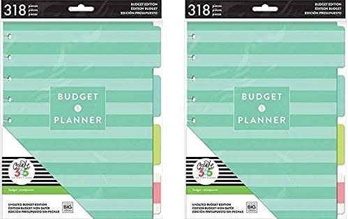 Budget Extension Bill Organizer Classic Happy Planner Accessory by Me & My Big Ideas (2 Pack)