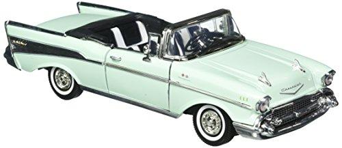 Motor Max 1:18 American Classics 1957 Chevrolet Bel Air Convertible Diecast Vehicles