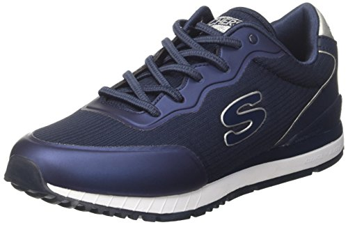 Skechers Sunlite-Vega, Baskets Enfiler Femme Bleu (Navy)