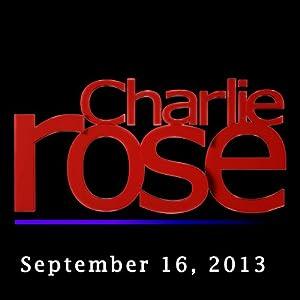 Charlie Rose: Lionel Barber, Astro Teller, and Ricky Gervais, September 16, 2013 Radio/TV Program