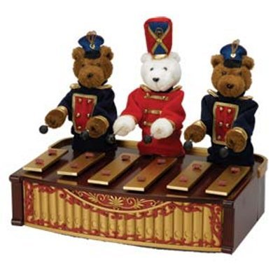 Mr. Christmas Bandstand Bears (Bandstand Bears)