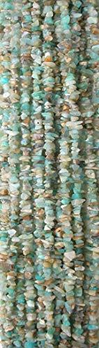 (Peruvian Blue Opal 5-7mm Chip Nugget Beads, 16 inch Strand)