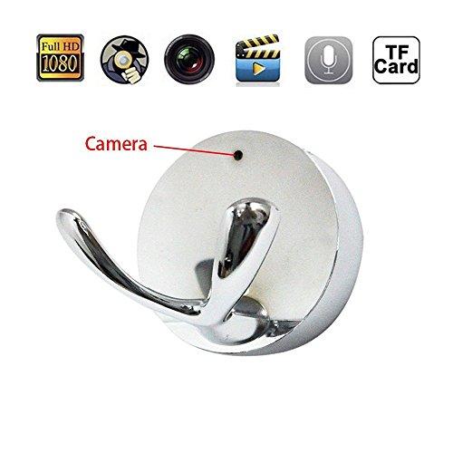 Clothes Hook Spy Camera (White) - 7