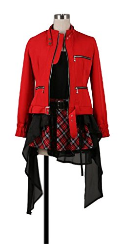 Inori Guilty Crown Cosplay Costume (Dreamcosplay Guilty Crown YUZURIHA INORI Uniform Anime Cosplay)
