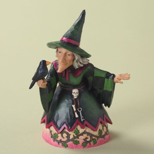 Enesco 4027795 Jim Shore Heartwood Creek Pint Sized Witch Figurine