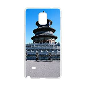 Samsung Galaxy Note 4 Cases Temple of Heaven, Case for Samsung Galaxy Note4 - [White] Okaycosama