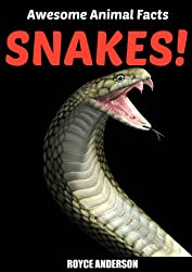 SNAKES!: Fact and Photo Book for Kids. (Awesome Animal Facts 1) (English Edition)