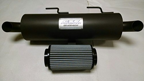Combo Exhaust Systems - POLARIS SPORTSMAN 850 1000 HIGH LIFTER TRAIL STALKER MUFFLER FILTER COMBO DEAL