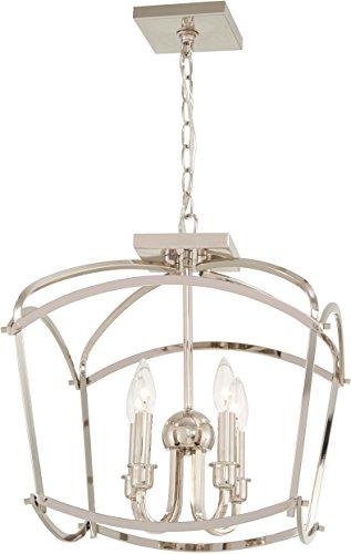 (Minka Lavery Pendant Lantern Ceiling Lighting 4773-613 Jupiter's Canopy, 4-Light 240 Watts, Polished)
