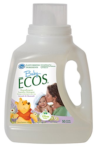 (Earth Friendly Products Baby Ecos Laundry Detergent, Lavender and Chamomile, 50 Ounce)