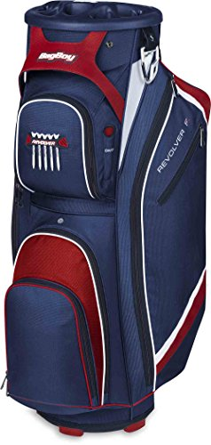 Bag Boy Revolver FX Cart Bag, Navy/Red/White