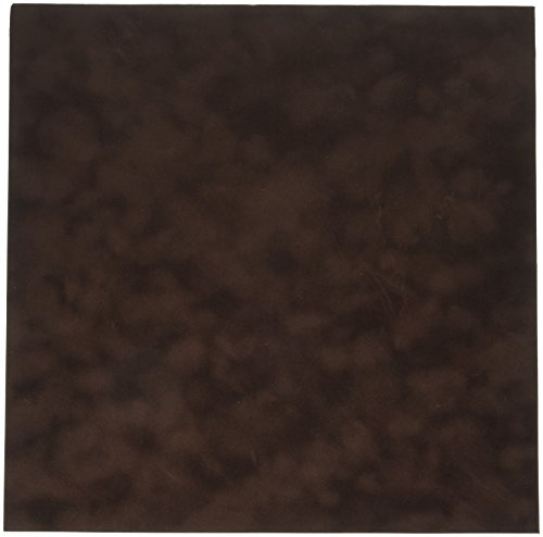 Sew Easy Industries 12-Sheet Velvet Paper, 12 by 12-Inch, Chocolate by Sew Easy Industries