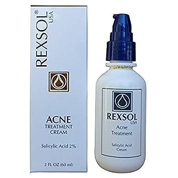 Buy Rexsol Acne Treatment Cream Salicylic Acid Cream Online At Low