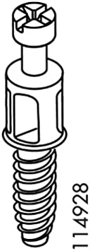 Lot of 6 Genuine IKEA Cam Lock Bolt Screws Part #114928