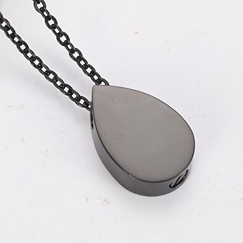 ZWT7797 Teardrop Tree of Life Memorial Ashes Urn Necklaces Stainless Steel Cremation Pendant Jewelry by Love of Life (Image #3)
