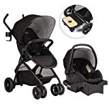 Best Baby Stroller Travel Systems - Evenflo Sibby Travel System w/ LiteMax Infant Car Review