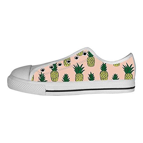 Dalliy Ananas Cartoon Mens Canvas shoes Schuhe Lace-up High-top Sneakers Segeltuchschuhe Leinwand-Schuh-Turnschuhe B