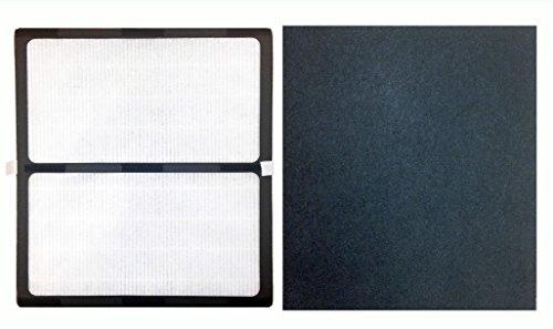 1 Idylis D HEPA Air Purifier & Carbon Filter - High Efficeincy Air Purifier Filter And Carbon Filter - High Qulaity HEPA Air Purifier Filter - Filter Fits Idylis Air Purifiers IAP-10-280