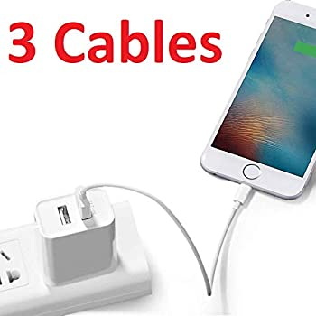 Amazon.com: iPhone Charger, 3Pack(1M/2M/3M) Lightning ...