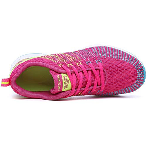 Onda de Mujeres Rose Deportivas Zapatos Las A de Zapatillas Transpirable la WXqwaBHg