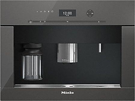 Miele CVA 6401 Integrado Totalmente automática Máquina espresso 2.3L 15tazas Grafito, Gris - Cafetera (Integrado, Máquina espresso, 2,3 L, ...