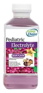 Great Choice Pediatric Electrolyte, Grape Flavor, 16.9 Fluid Ounce