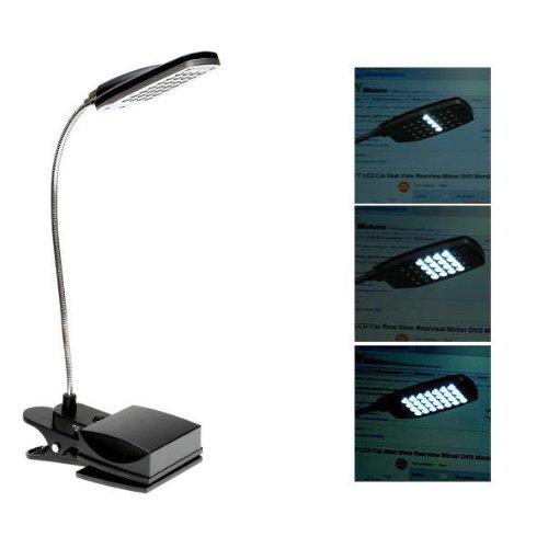 Soonhua 28 LED FLEXIBLE USB & BATTERY 3 MODES CLIP-ON LIG...