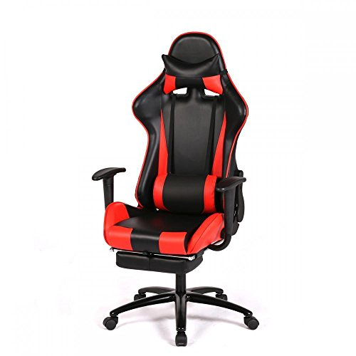 Red Gaming Chair High-back Computer Chair Ergonomic Design Racing Chair RC1 New Most Popular